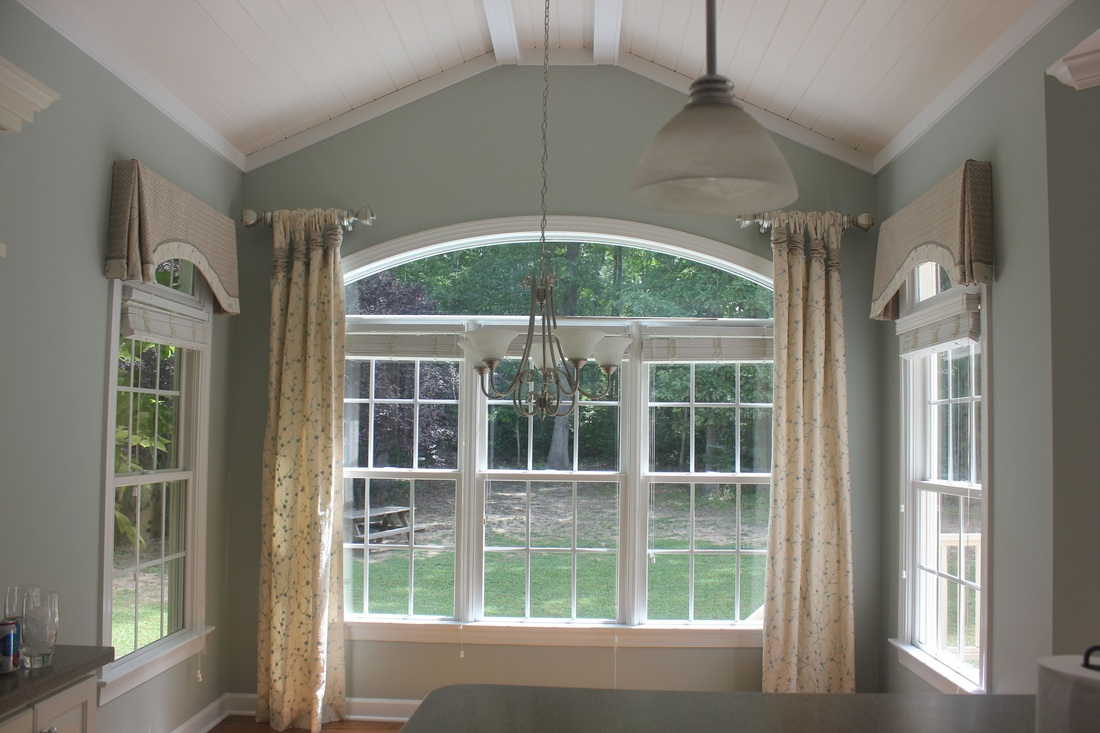 Custom Window Curtains in Raleigh, NC