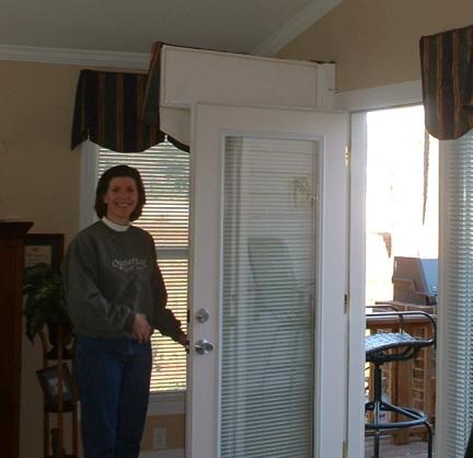 Operable Door Valance & Door Valances \u0026 Valance Window Treatments in Raleigh NC | Dogwood ...