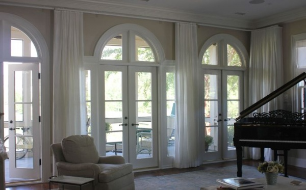Custom Window Treatment in Raleigh, NC
