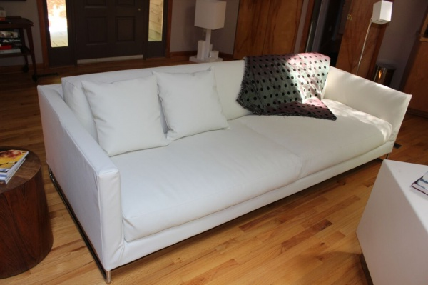 contemporary slipcover