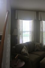 Custom Valances, Shades & Top Treatments in Apex NC
